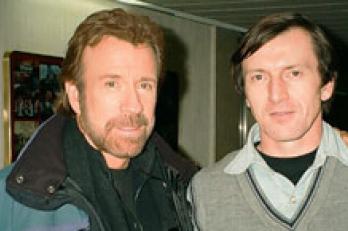 S Chuckem Norrisem