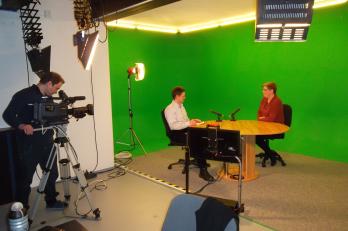 Mediální trénink ve studiu