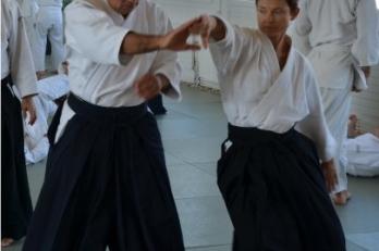 Trénink Aikido