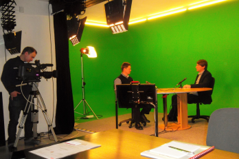 Mediální trénïnk ve studiu