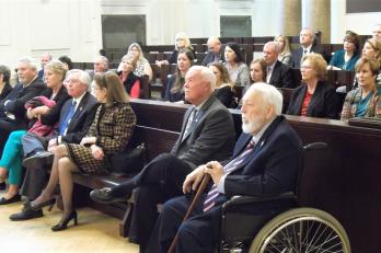 Právníci z Texasu na návštěvě Vrchního soudu v Praze