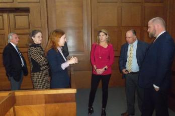 Diskuse na Vrchním soudu s americkými právníky