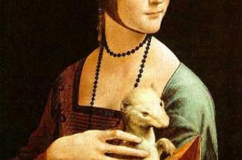 Leonardo da Vinci - Dáma s hranostajem